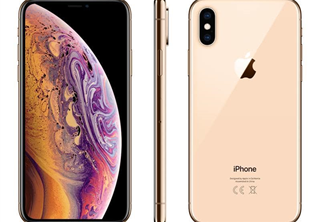 Apple iPhone Xs 256 GB Guld SmartPhone, 5,8'' OLED-skärm, dubbelt 12MP kamera, 4G, 3D Touch