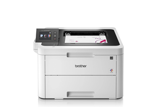 Brother HL-L3270CDW 24ppm/256MB/WLAN/USB2.0 - 3 year warranty, first year on site