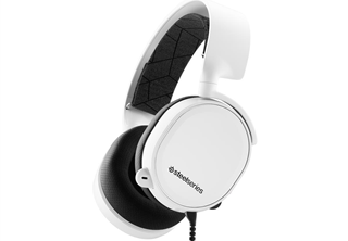 Steelseries Arctis 3 Headset Vit 2019 3.5mm minijack, indragbar mik, brusreducerand, 7,1 surround, gaming headset