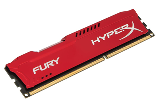 ''DDR3  4GB PC 1600 CL10 Kingston HyperX Fury Red Series retail''
