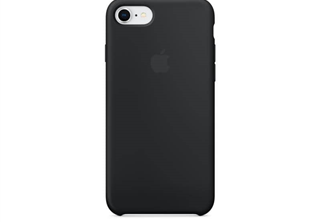 Apple Silicone Case Black, for iPhone 8 / 7