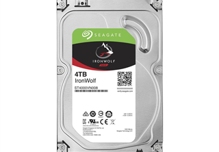 Seagate IronWolf NAS HDD 3,5'' 4TB. 64MB, 5900RPM