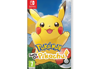 Pokémon: Lets Go, Pikachu! Nintendo Switch