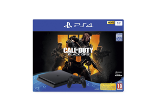 PlayStation 4 Slim 1TB Black Ops 4 PS4 Slim, 1TB HDD, Controller, HDMI kabel, Black Ops 4