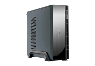 Chieftec UNI Series UE-02B Mini Tower Micro-ATX, 1x 5,25'', 1x 3,5'' / 2x 2,5'' or 2x 80mm fan, 250W PSU (SFX- 250VS)