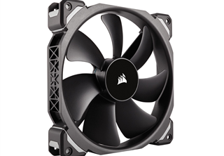 Corsair ML140 PRO, 140mm Fläkt Magnetic Levitation Fan, 140x140x25mm, 400~2000 RPM, 20~97 CFM, 16-37dBA, 4-pin